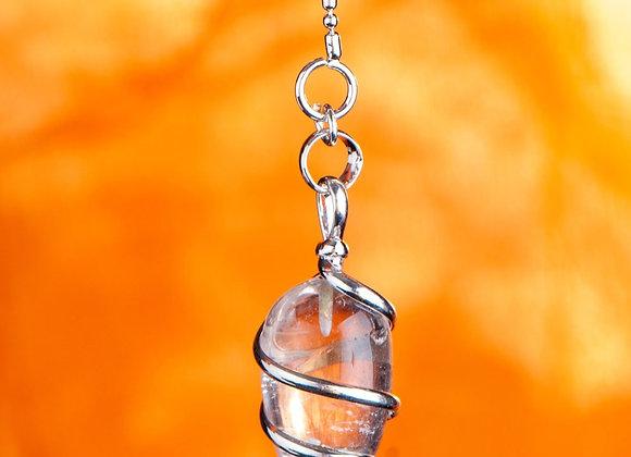Spiralpendel Bergkristall