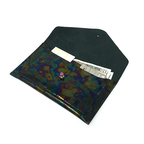 Oilspill midi wallet by Sister Epic