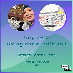 $5 Ticket for Jessica Heberle  Peña talk