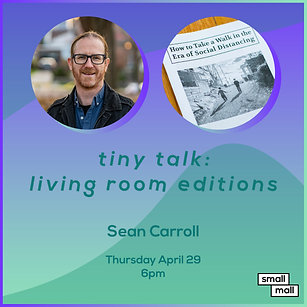 $5 Ticket for Sean Carroll talk