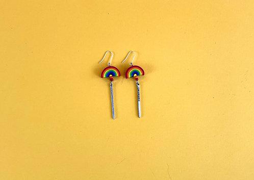 Earrings by Hannah Frank
