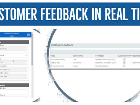 GSHA App: Highlights Voice Of The Customer (VOC) Feedback