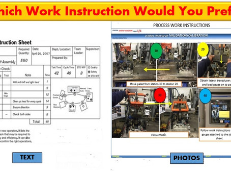 Visual Management: Communicate Instructions More Effectively
