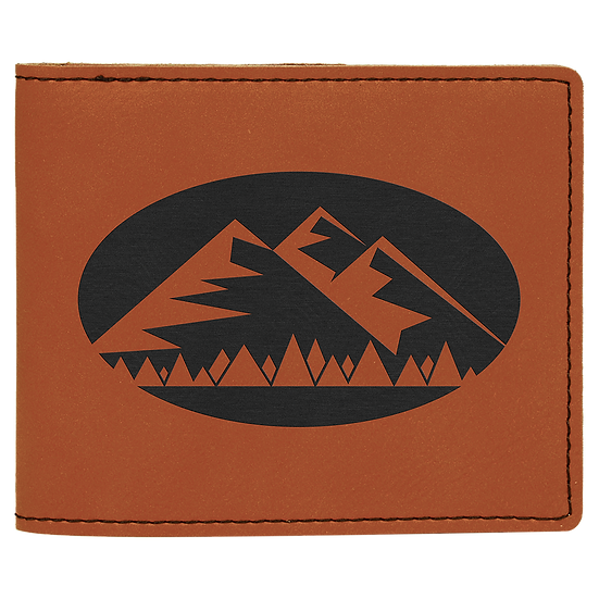 Rawhide Leatherette Bifold Wallet