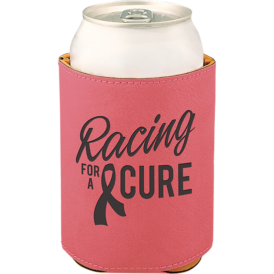 Pink  Leatherette Beverage Holder