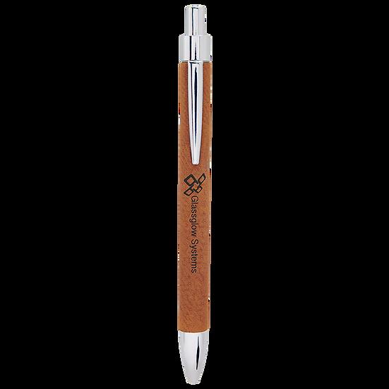Rawhide Leatherette Pen