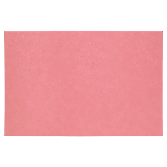 """Pink 12"""" x 18"""" Leatherette Wall Decor/Signage with Sawtooth Hanger"""