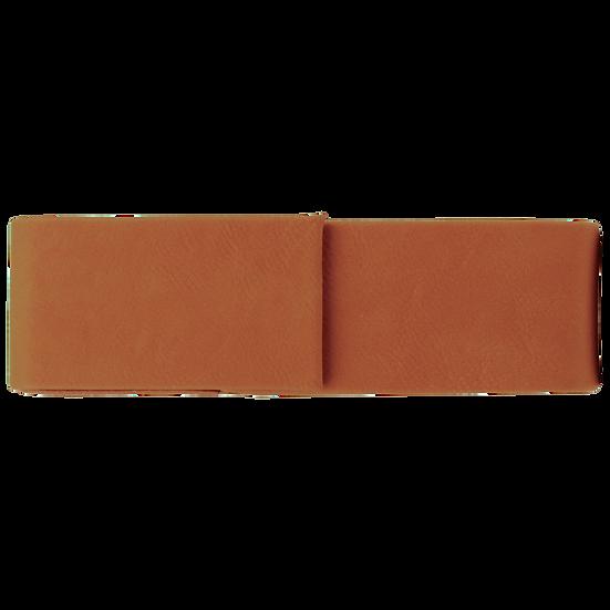 Rawhide Leatherette Double Pen Case