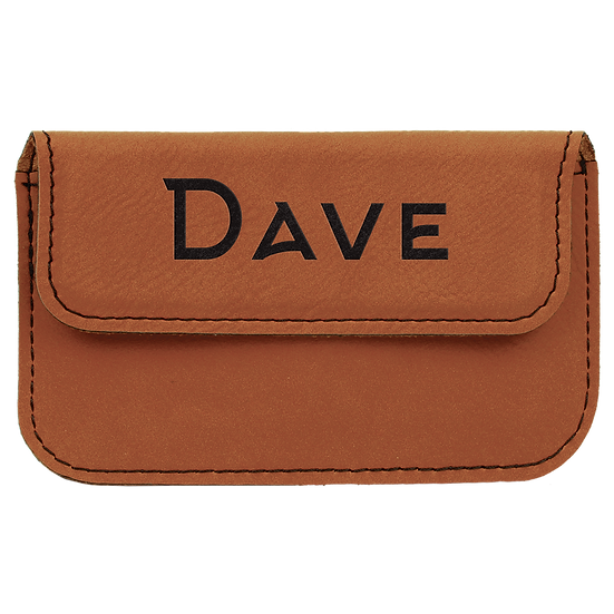 Rawhide Leatherette Flexible Card Case