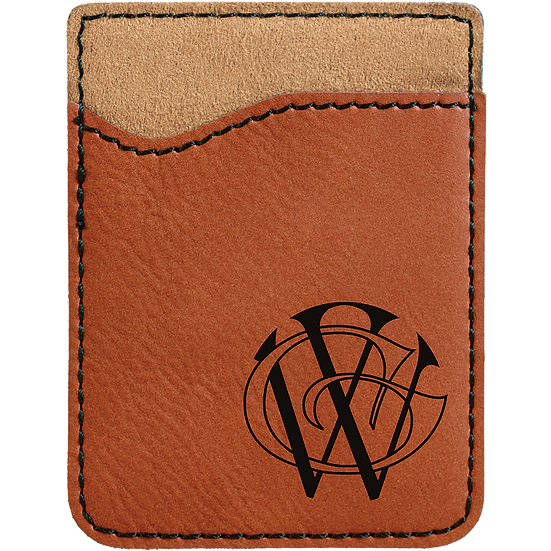 Rawhide Leatherette Phone Wallet