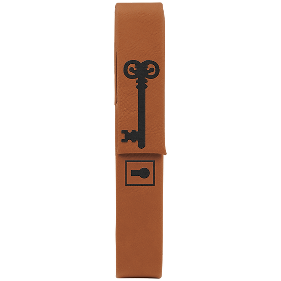 Rawhide Leatherette Single Pen Case