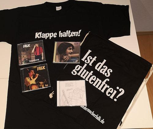 Sonderangebot Groß (Shirt, Tasche, 4 CDs nach Wahl)