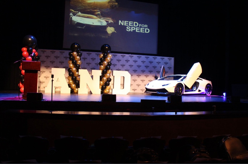We put a Lamborghini on the Stage for this event at the FOX Theater