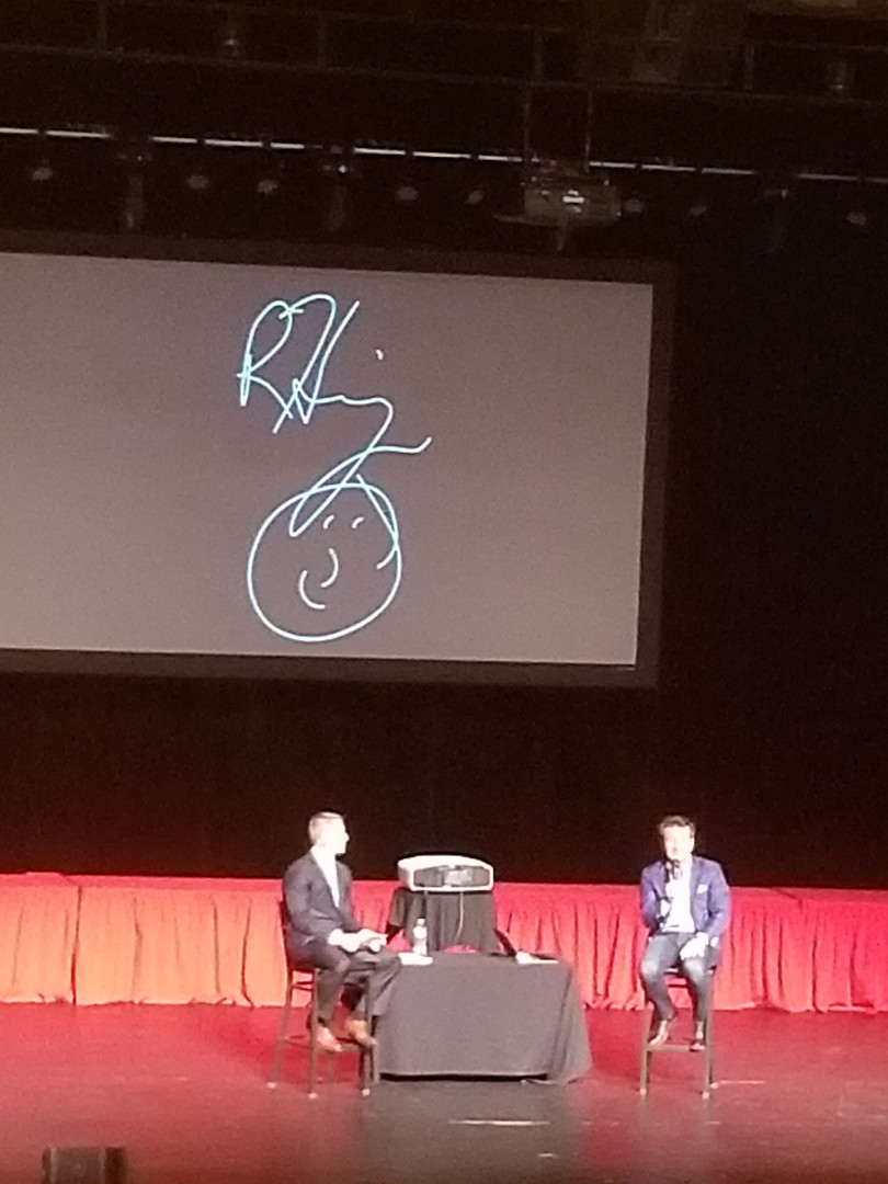 My Robert Herjavec event at the Riverside Municipal Auditorium