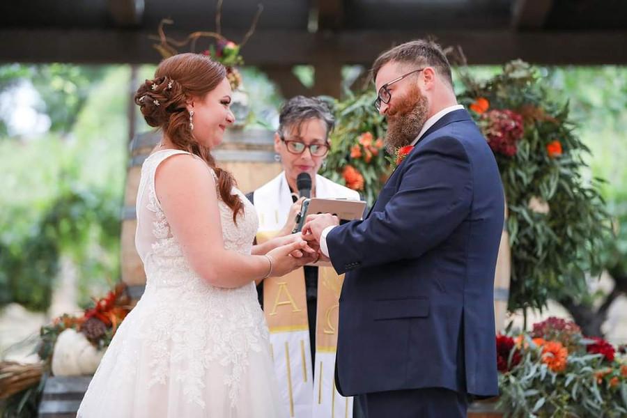Beauchamp Wedding Ceremony at Wilson Creek Winery