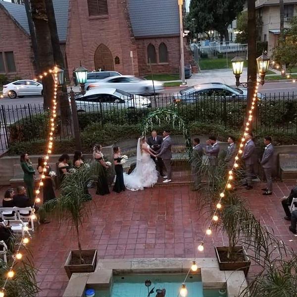 Day of Wedding Coordination at the Riverside Municipal Auditorium