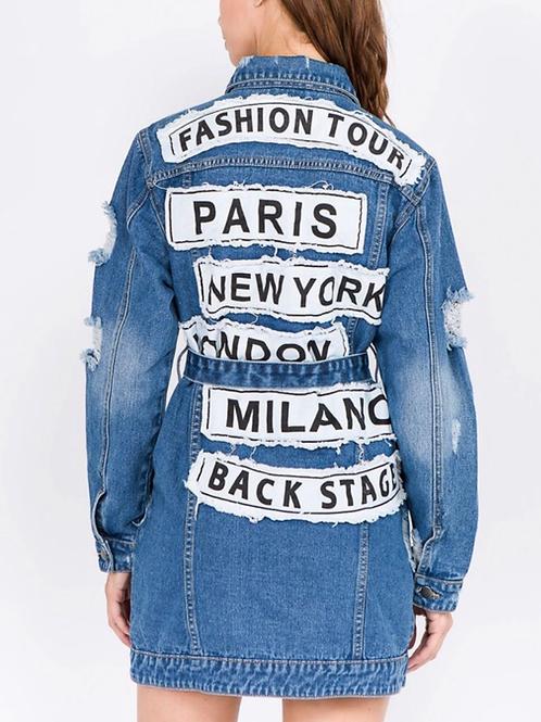 Fashion City Tour Jacket