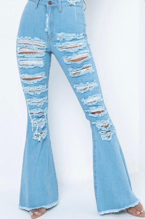 Sliced Jeans