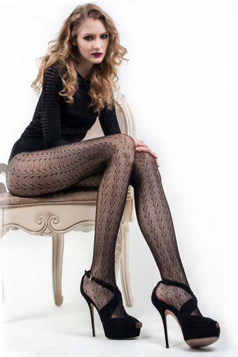 Lace Fishnet Tights