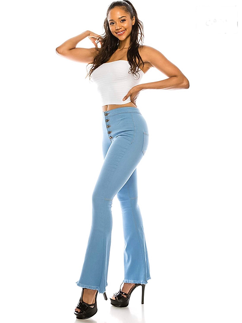 Float on Flare Jeans