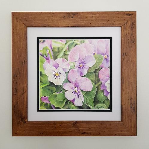 Spring Violas - ORIGINAL ARTWORK