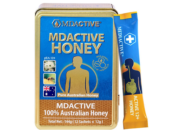 [MDActive] 12+ Australian Honey 144g (12g x 12 Sachets)