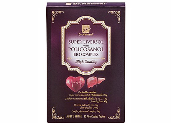 [Dr.Natural] Super Liversol with Policosanol Bio Complex 10's