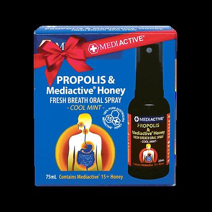 [Mediactive] Propolis & 15+Honey Spray 75ml [AU Local]