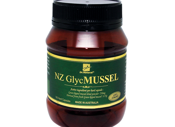 [Dr.Natural] NZ Glyc Mussel Powder 180's