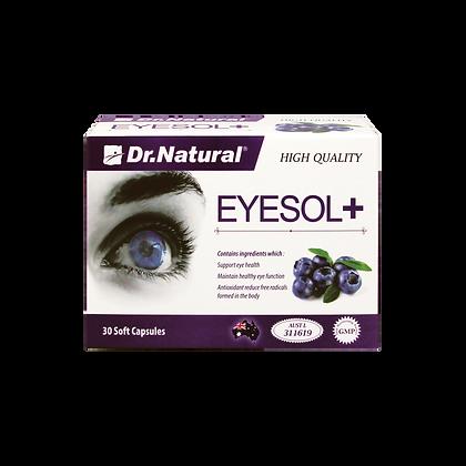 [Dr.Natural] Eyesol+ Super Lutein Complex 30's