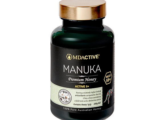 [MDActive] MGO58+ Manuka Honey 300g