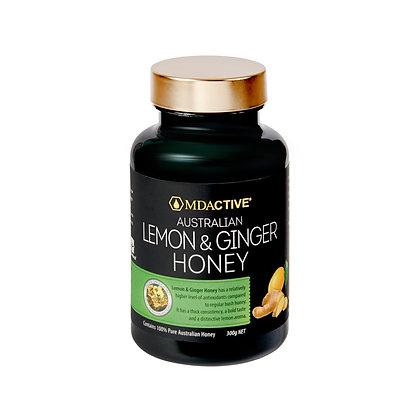 [MDActive] Lemon & Ginger Honey 300g