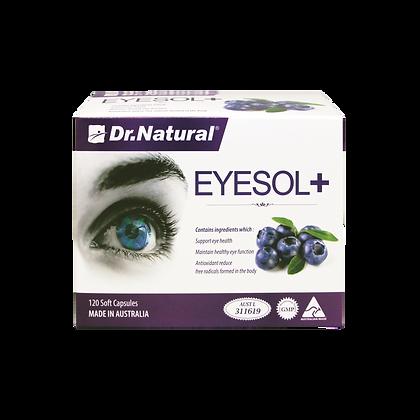 [Dr.Natural] Eyesol+ Super Lutein Complex 120's