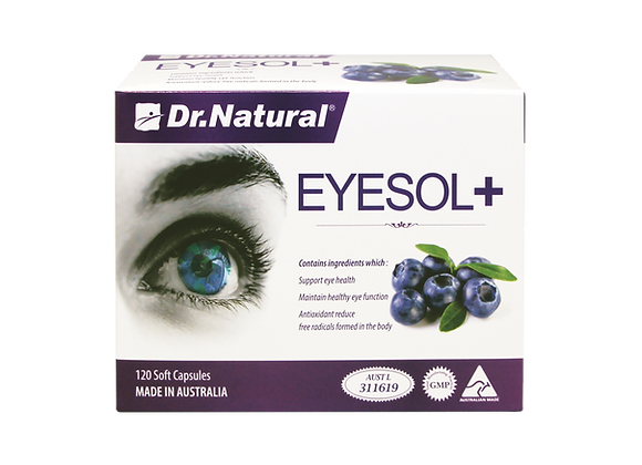 [Dr.Natural] Eyesol+ Super Lutein Complex 120's