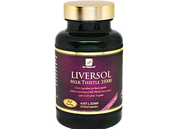 [Dr.Natural] Liversol Milk Thistle 35000 60's