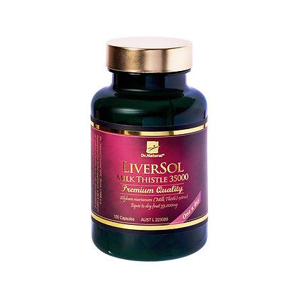 [Dr.Natural] Liversol Milk Thistle Powder 100's