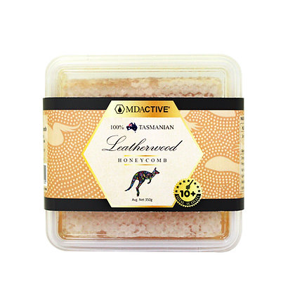 [MDActive] 100% Tasmanian Leatherwood Honeycomb 350g