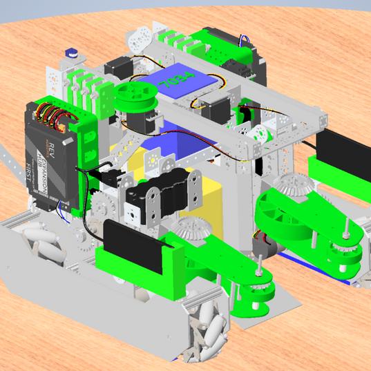 PreRendered Robot