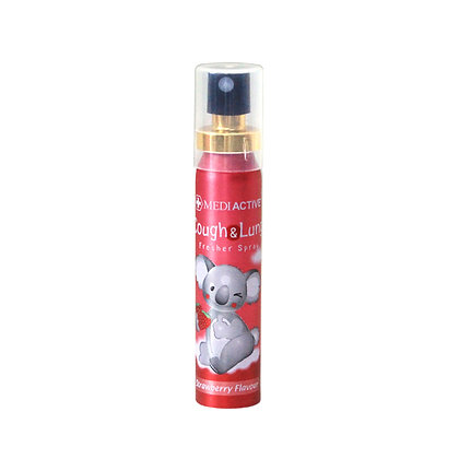 [Mediactive] Cough&Lung Fresher Spray 25ml - Strawberry flavour