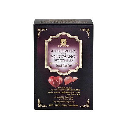 [Dr.Natural] Super Liversol with Policosanol Bio Complex 30's