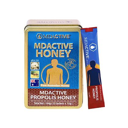 [MDActive] 12+ Propolis Honey 144g (12g x 12 Sachets)