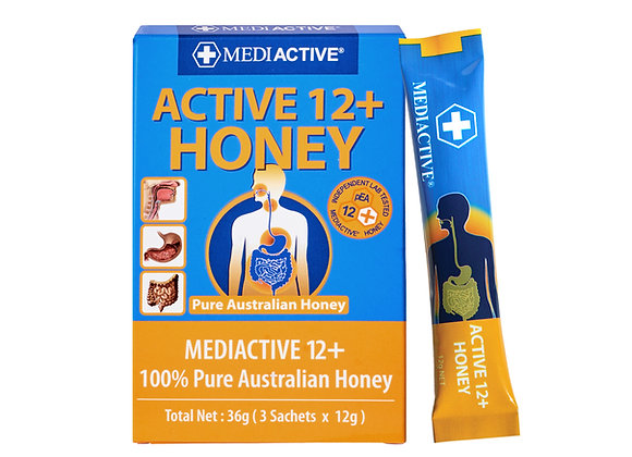 [Mediactive] 12+ Honey 252g (12g Sachets x 3ea x 7pack)