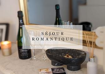 Bon Cadeau Séjour Romantique