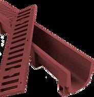 Полимерпесчаные водоотводные лотки с решетками фото 1