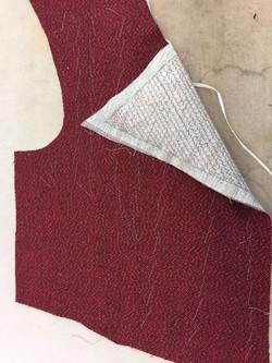Pad Stitching Lapels on Vagabond
