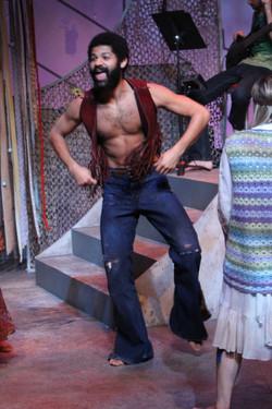 Hiram Dancing During Acid Trip