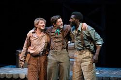 Huck, Tom Sawyer, and Jim