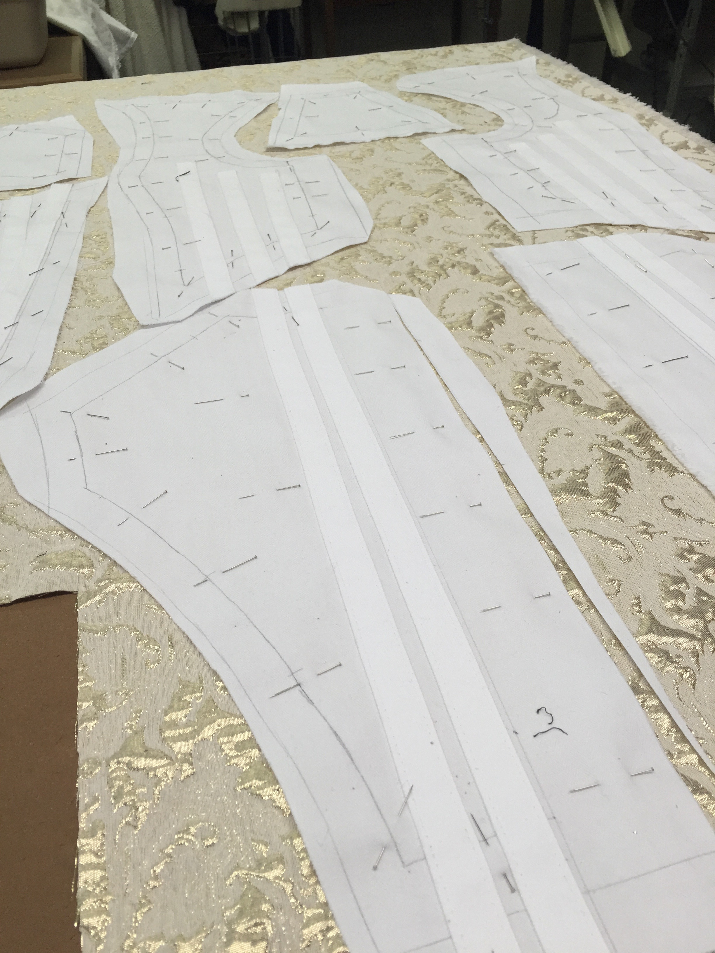 Cutting the Queen's Gown
