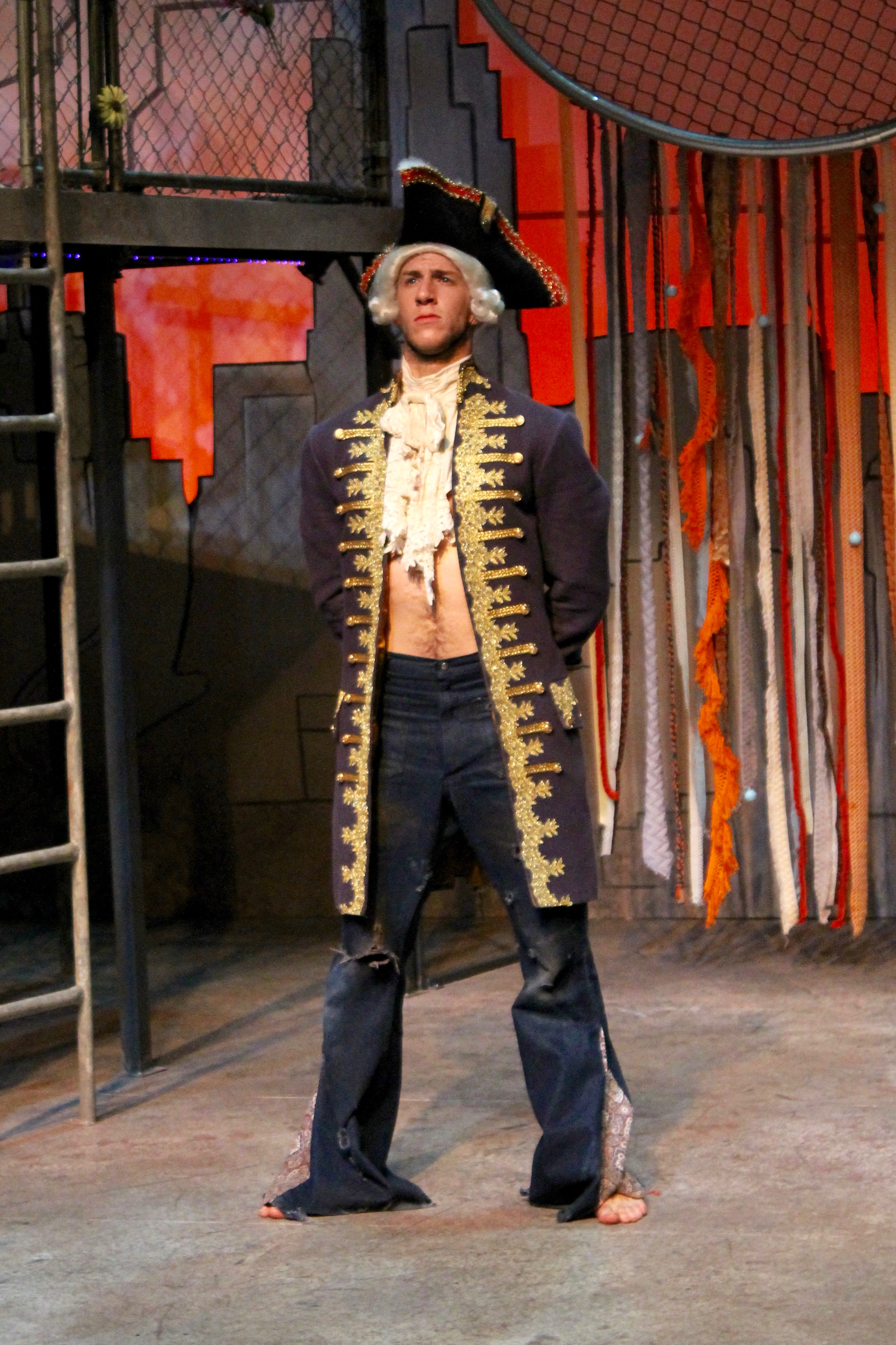 Berger Playing George Washington