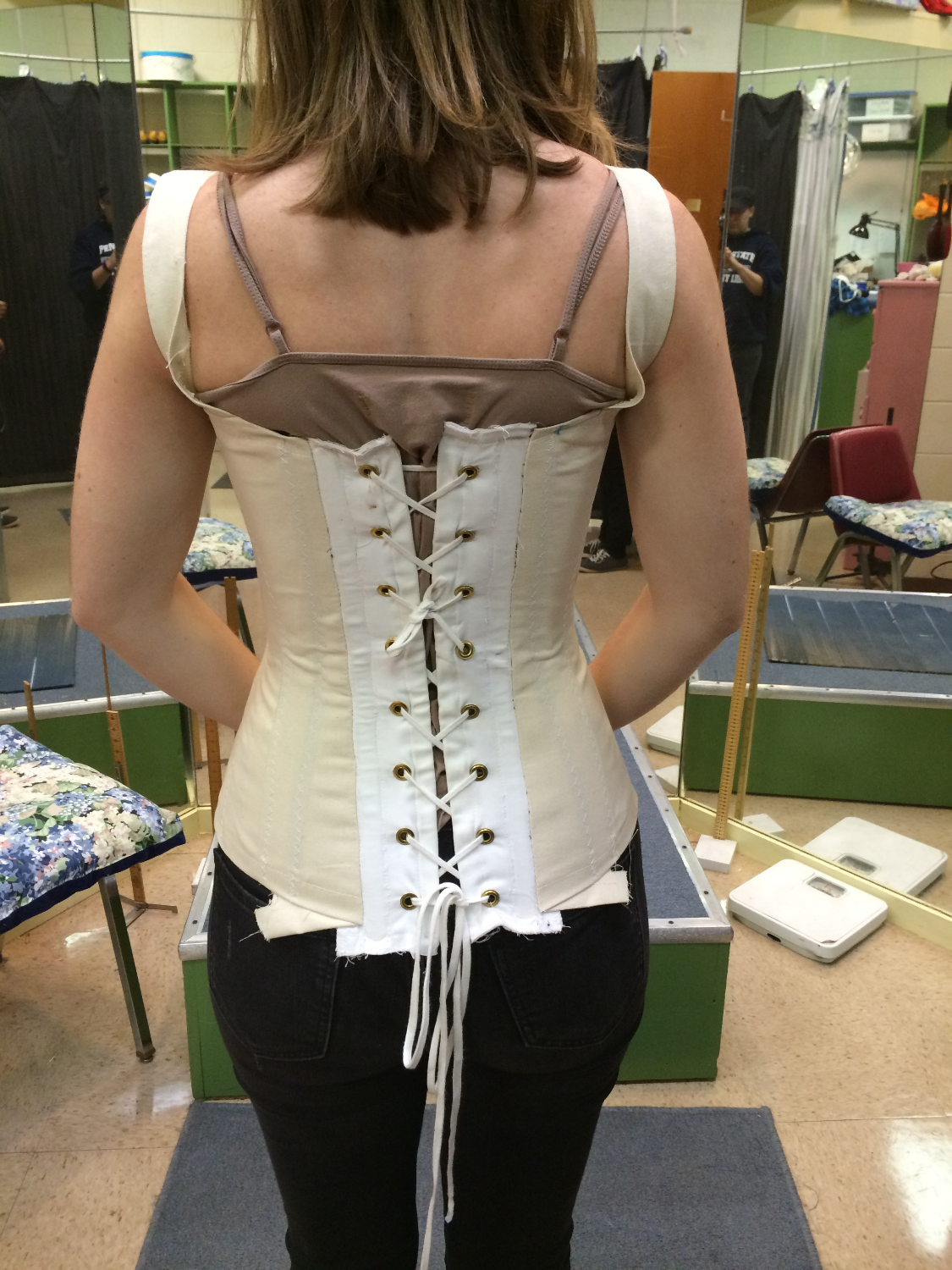 Mock-Up Fitting - Back